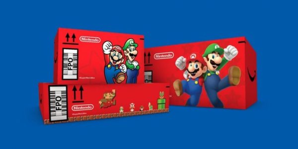 Super Mario packaging