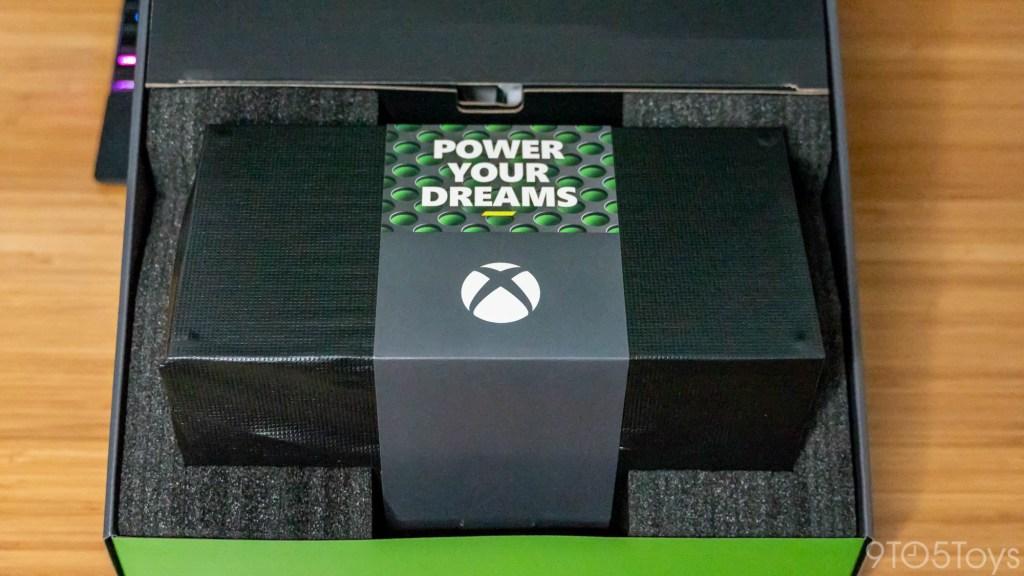 xbox series x unboxing
