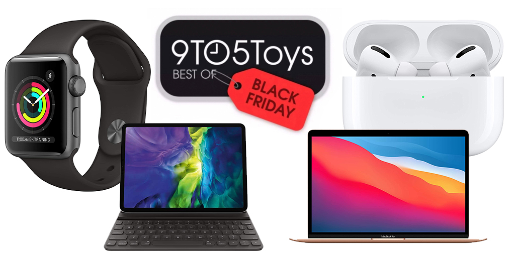 Best of Black Friday 2020 — Apple: AirPods Pro $170, Apple Watch Series 3 $119, iPads, more - 9to5Toys