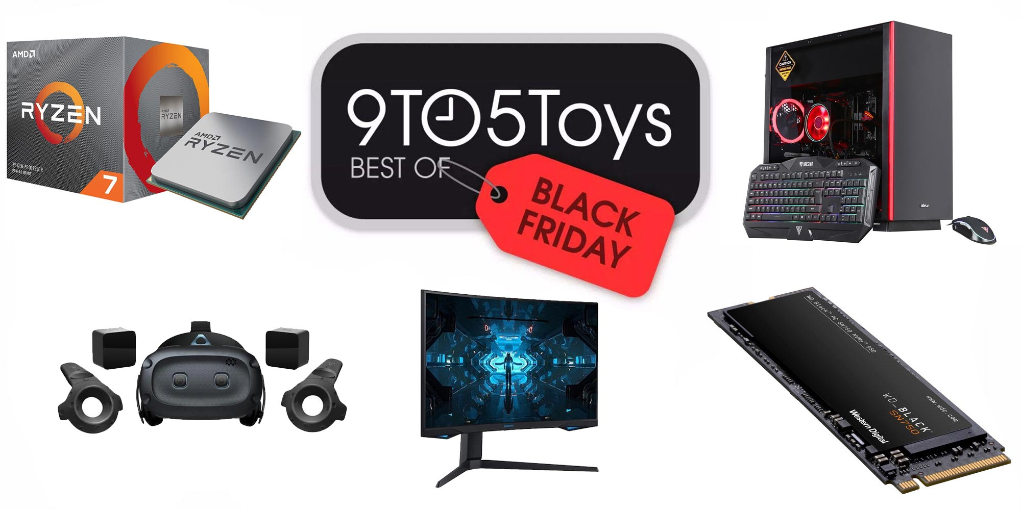 Best of Black Friday 2020 – PC Gaming: 27-inch 240Hz monitor $500, RTX 2070 Super PC $1,250, more - 9to5Toys