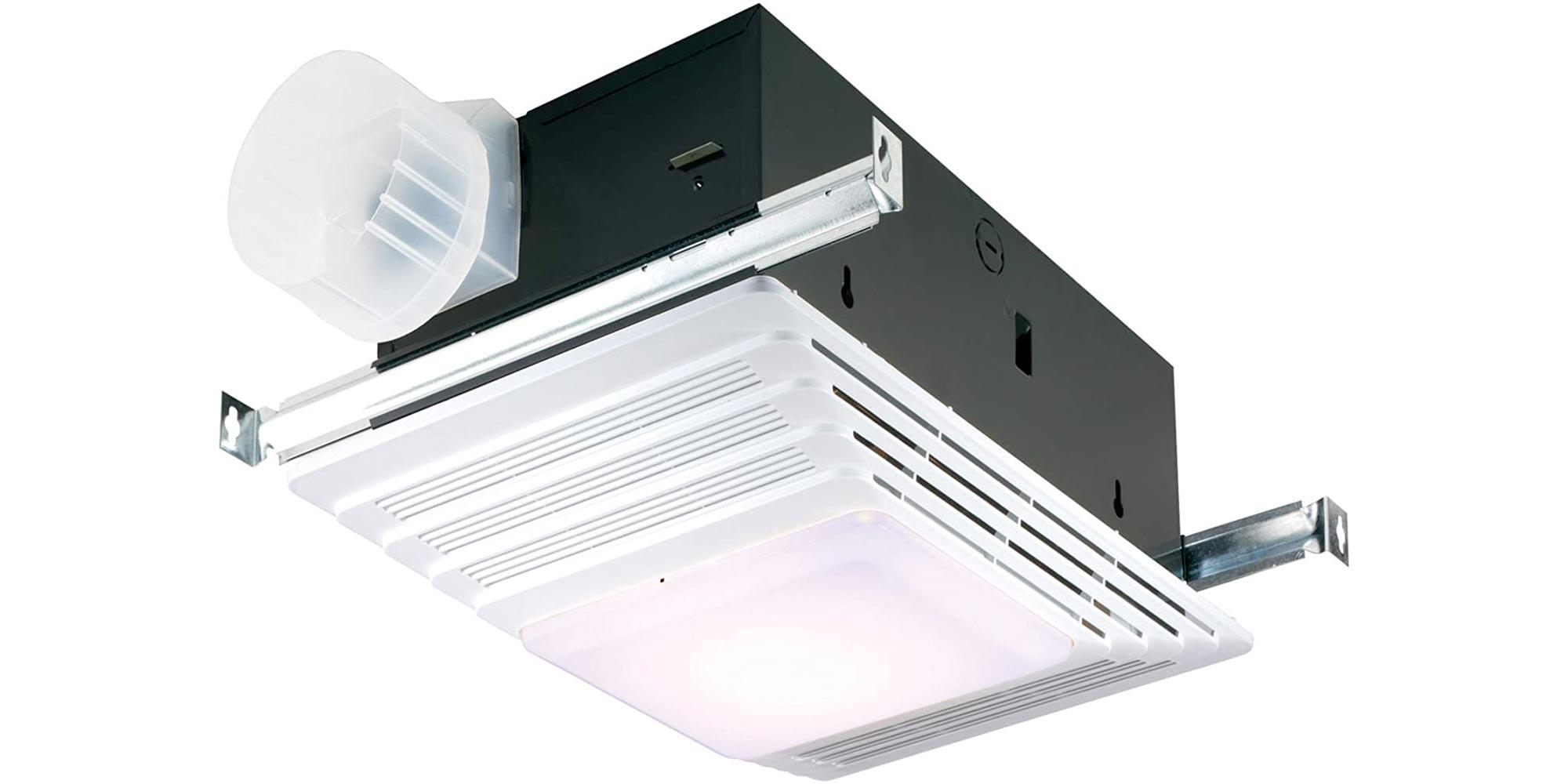 Broan Nutone S Bath Fan Also Packs A Light 1300w Heater For Under 63 Reg 109 9to5toys