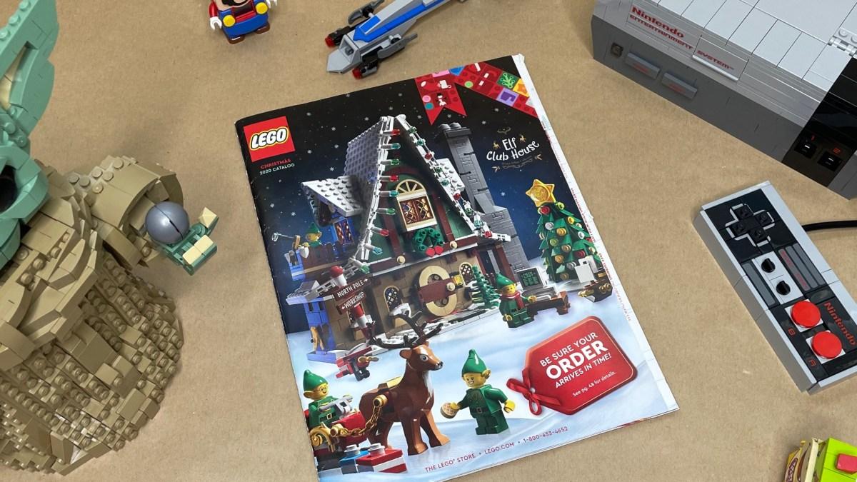 LEGO Holiday Book 2020