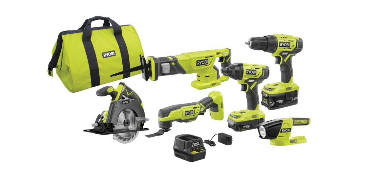 Home Depot S Ryobi Early Black Friday Sale Takes Up 35 Off Tools More 9to5toys