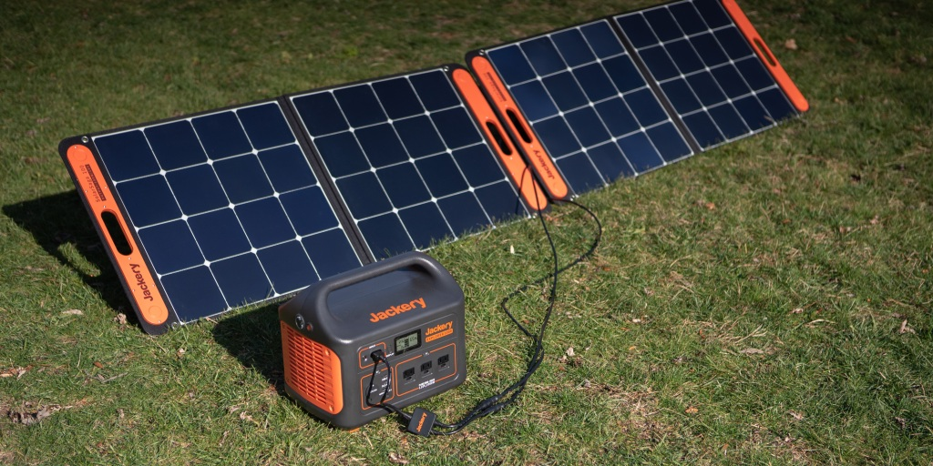 The Solar Generator 1000 kit is a great accessory when camping or RVing.
