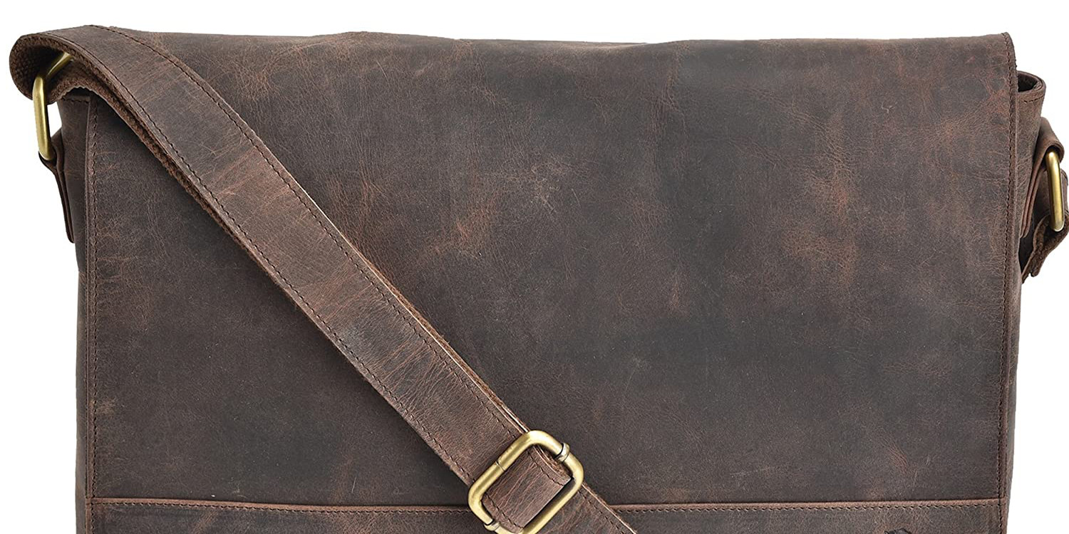 Leather MacBook-ready messenger bags up to 42% off today with deals from $35