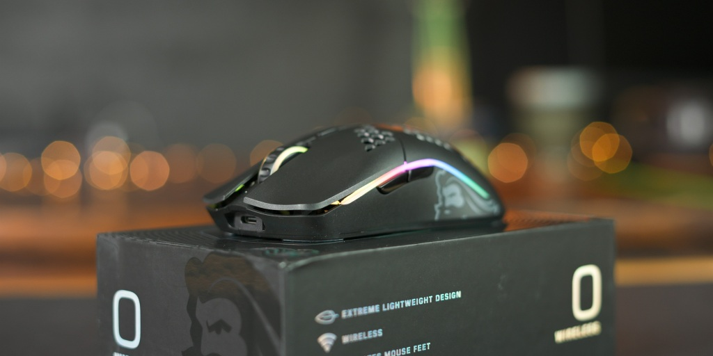 The Model O Wireless has glorious RGB as well.