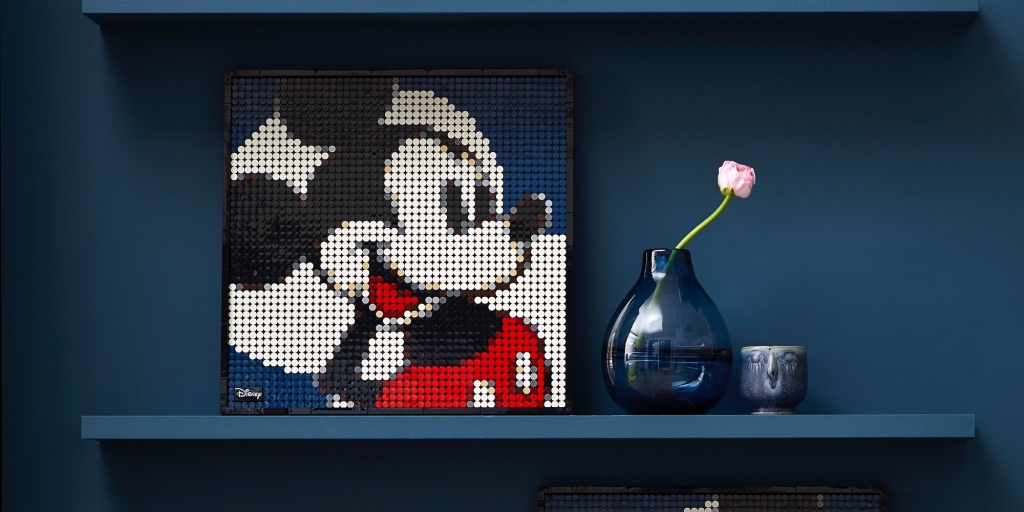 LEGO Disney Art
