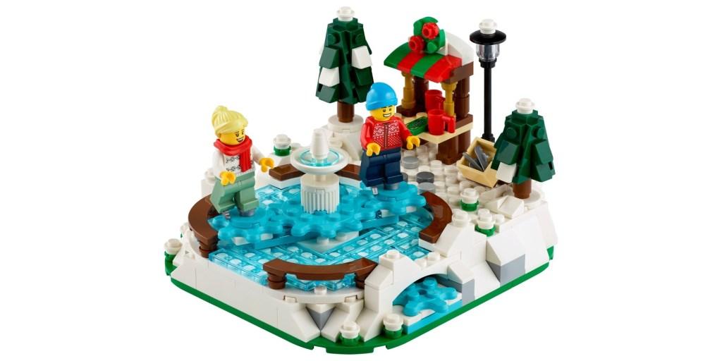 LEGO Ice Skating Rink