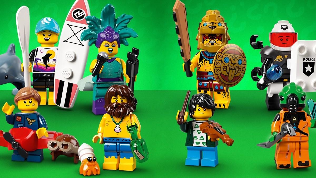 LEGO minifigure series 21
