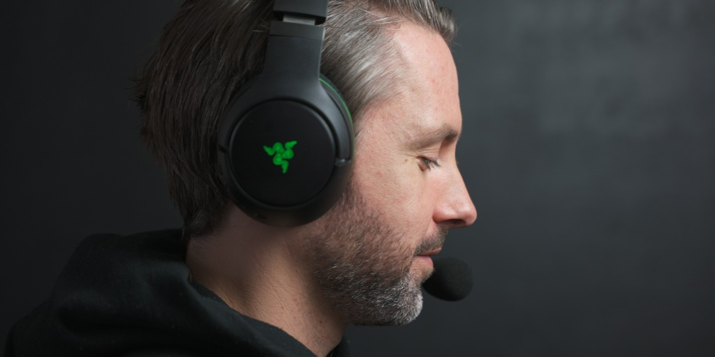 The Razer Kaira Pro is comfortable for long gaming sessions