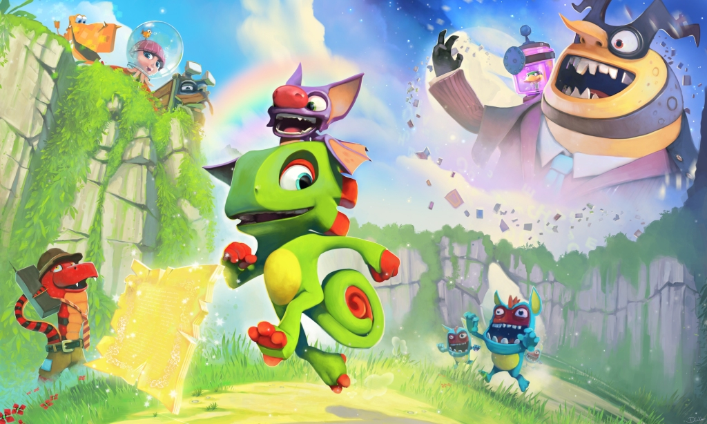free Fall Guys content + Yooka-laylee