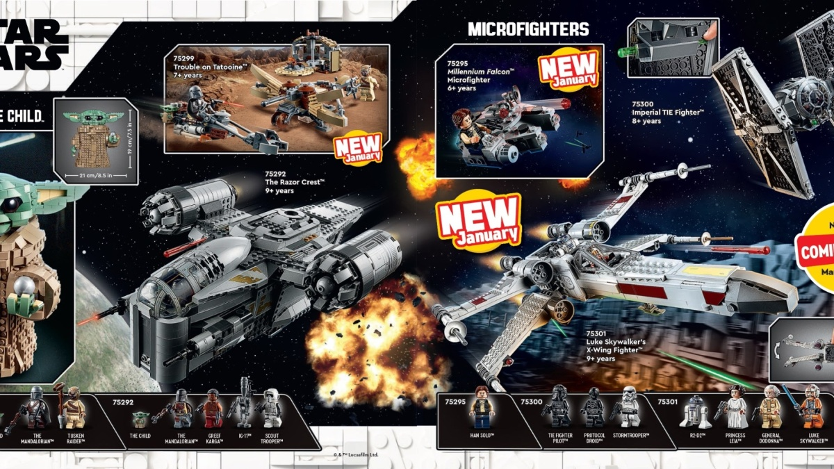LEGO Catalog 2021