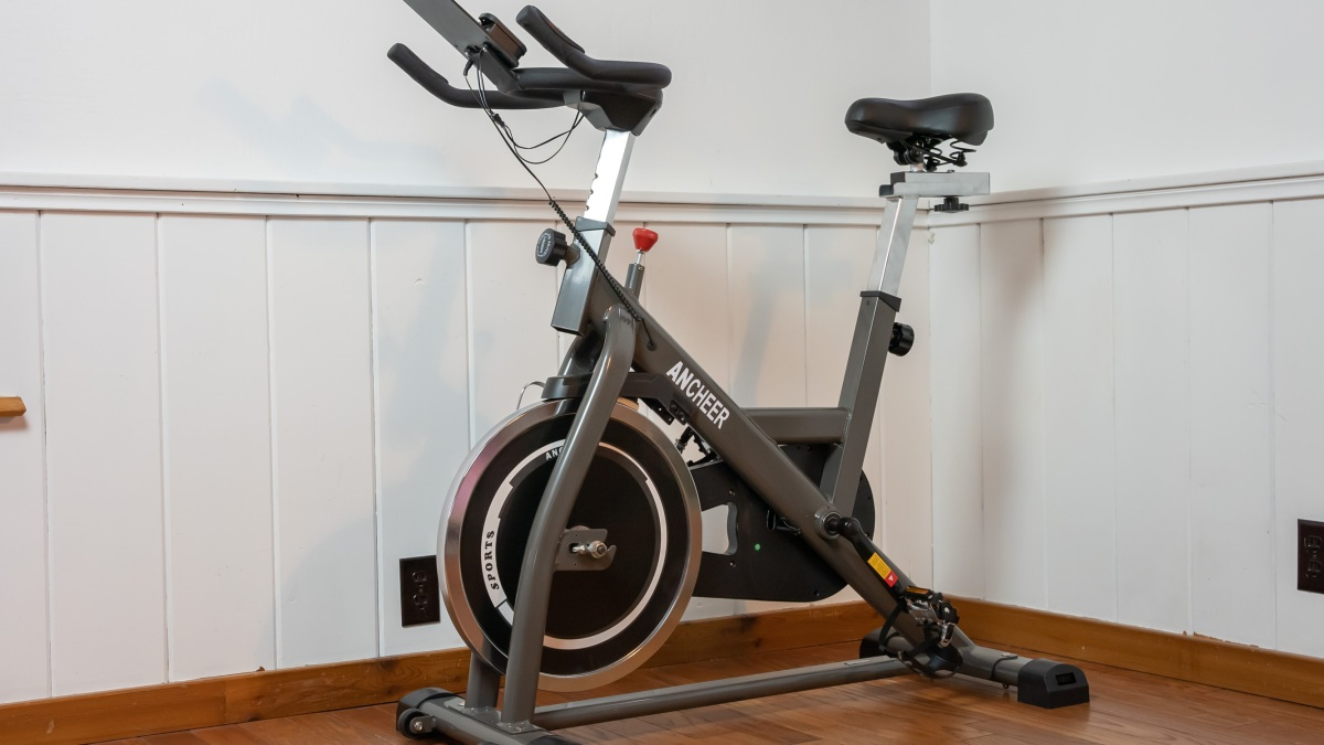 Ancheer exercise bike ready to ride