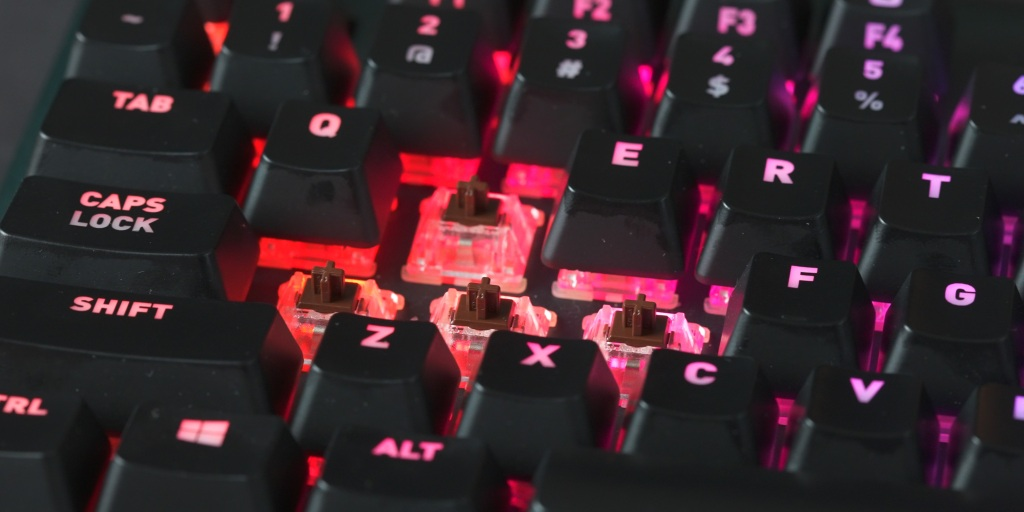 With Cherry MX switches, you know what to expect with the Fnatic miniSTREAK
