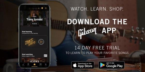 Gibson app hero