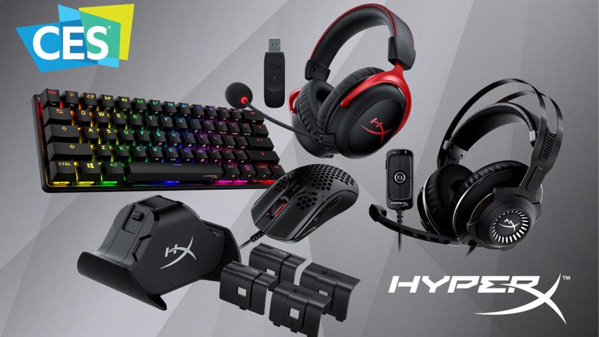 HyperX peripherals