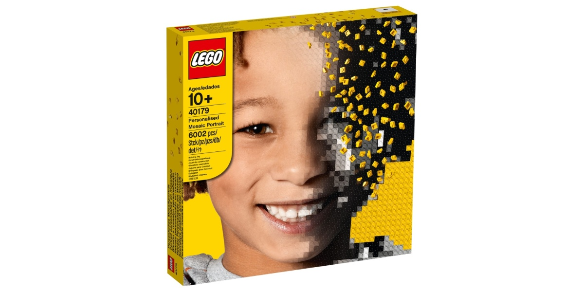 LEGO Personalised Mosaic Portrait