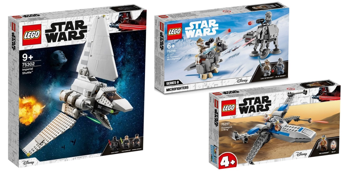 lego star wars 2021 march wave debuts with three new kits