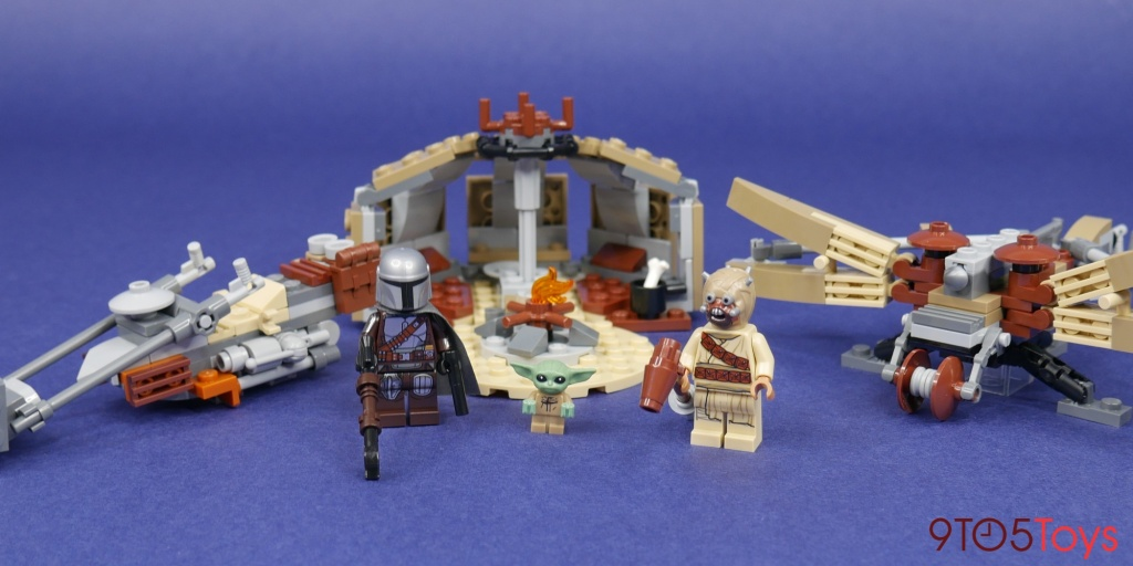 LEGO Trouble on Tatooine