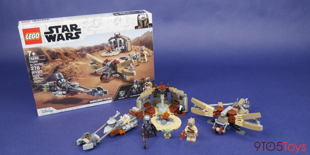 LEGO Trouble on Tatooine