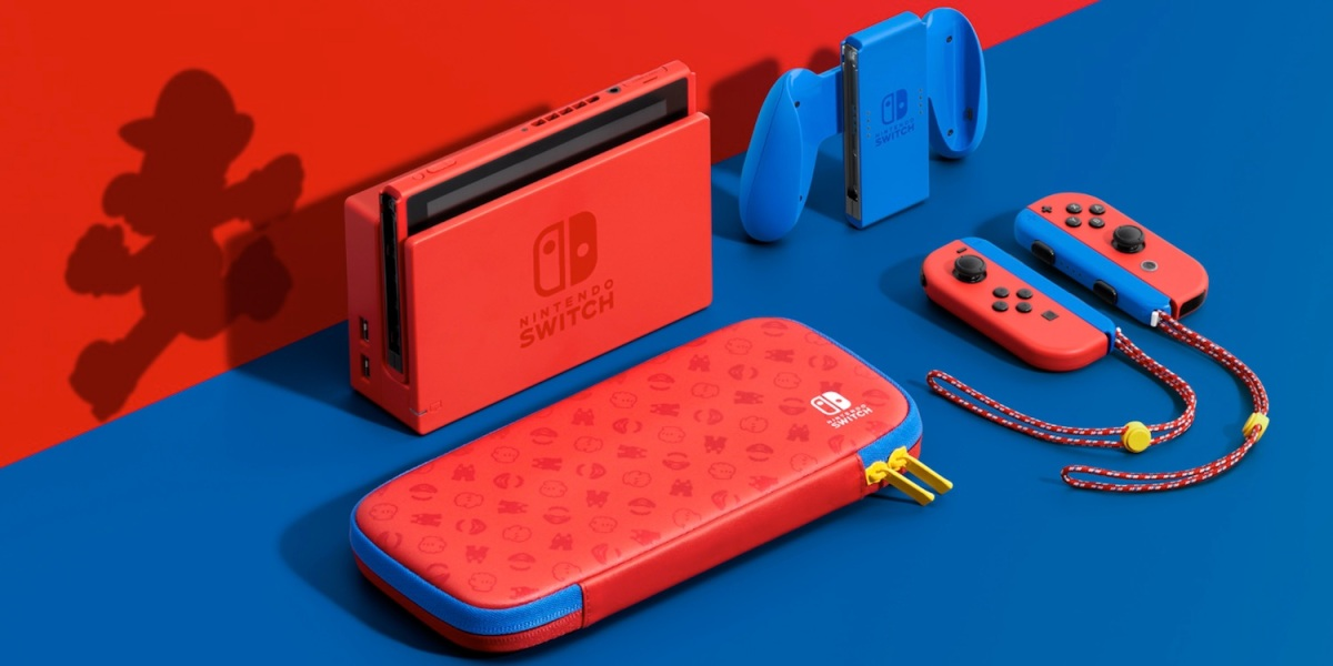 Mario Day 2021 Mario Red and Blue Edition Switch