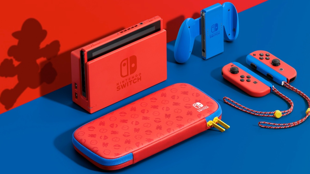Mario Red and Blue Edition Switch
