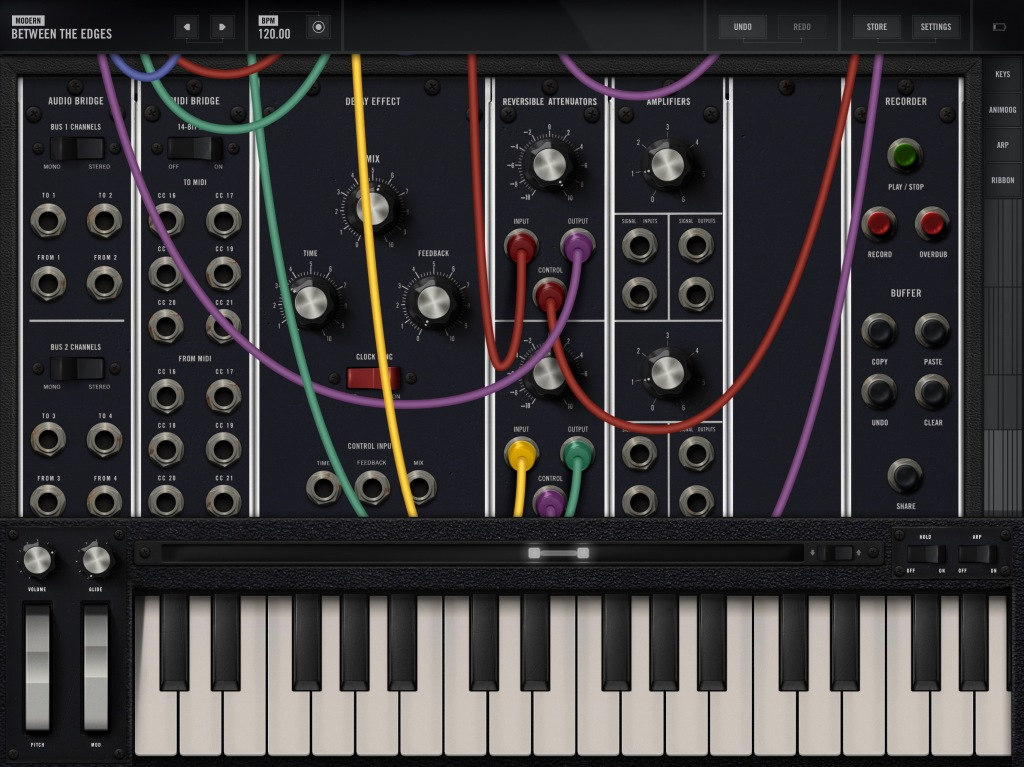 Model 15 Modular synth comes to Mac