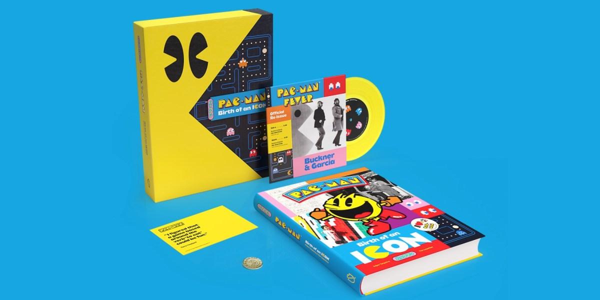 Pac-Man art book hero