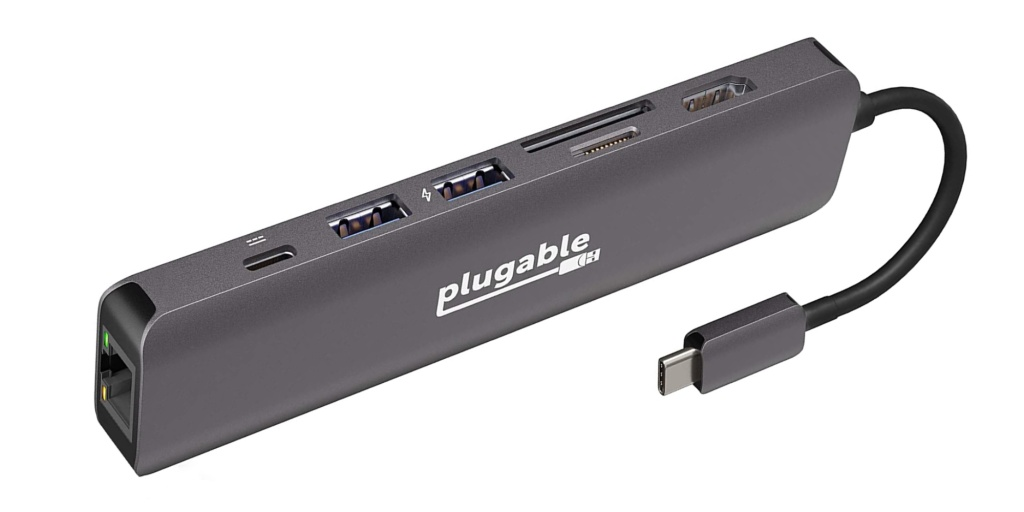 Plugable 7-in-1 USB-C Hub