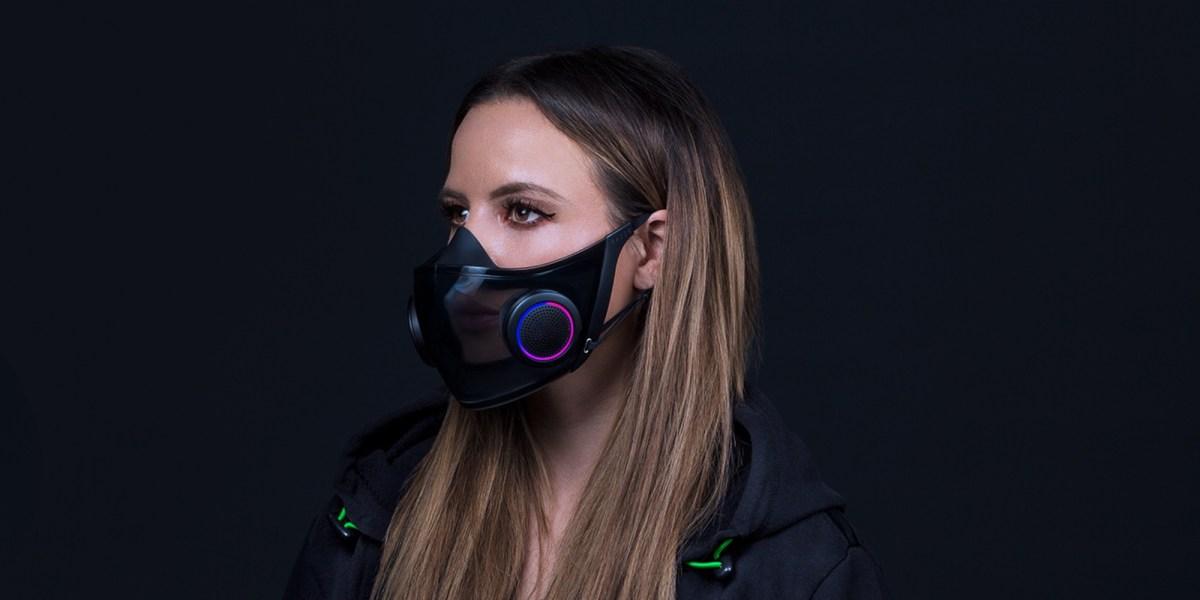 Razer RGB face mask