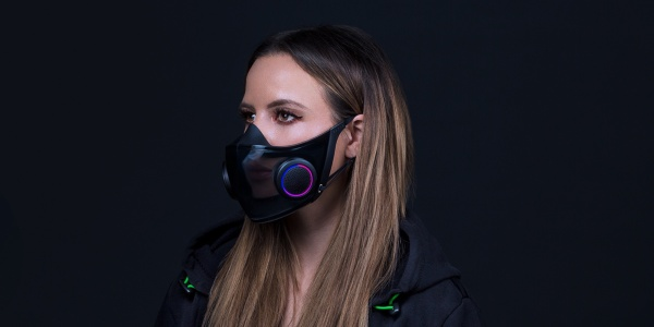 Razer RGB face mask