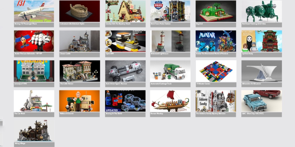 LEGO Ideas winter review