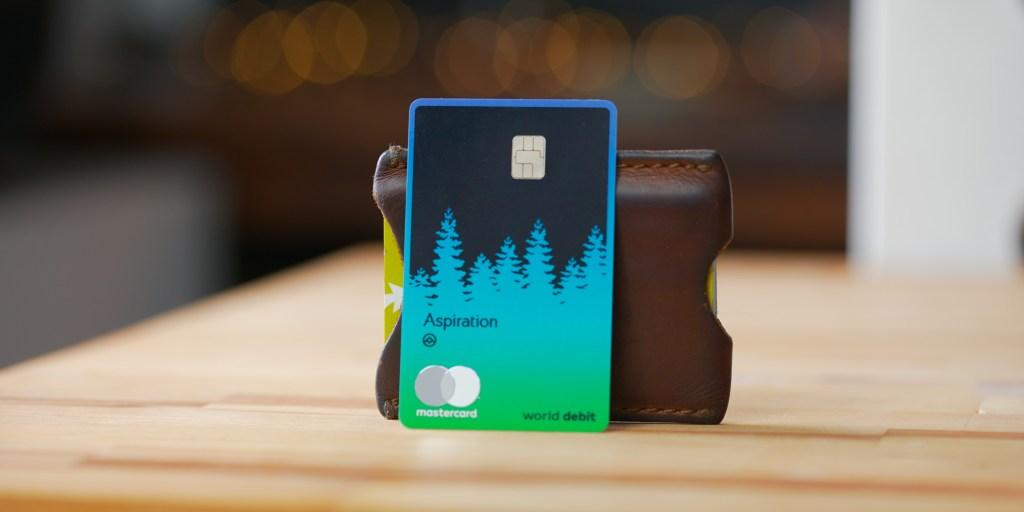 Aspiration world debit card