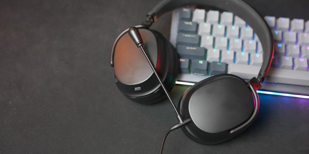 Drop Panda Bluetooth headphones on top of the Drop Alt keyboard