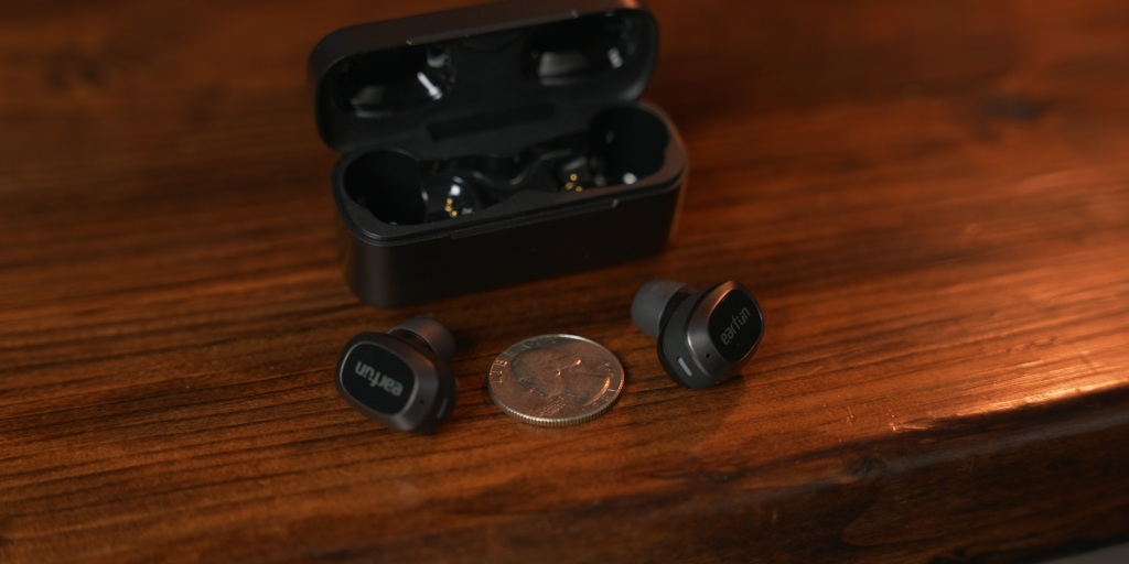 The EarFun Free Pro earbuds are some of the smallest I've tried