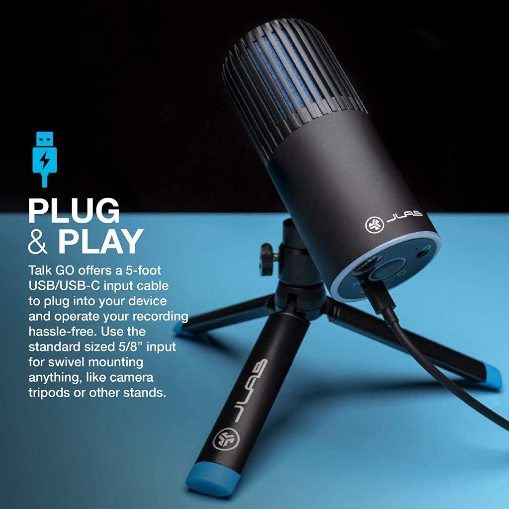 NEW JLab Talk USB microphones