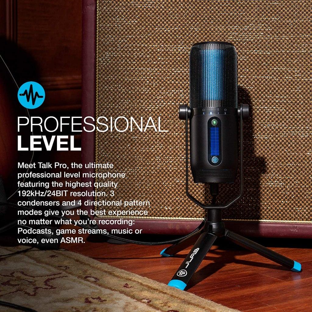 JLab Talk USB microphones