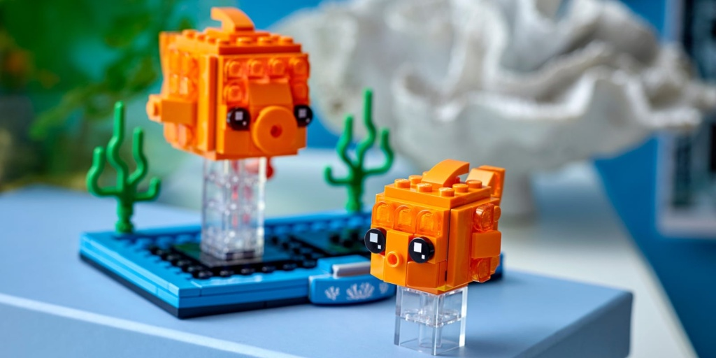 LEGO Goldfish BrickHeadz