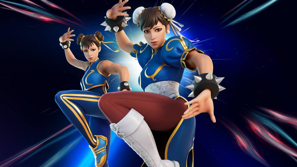 Street Fighter Fortnite update