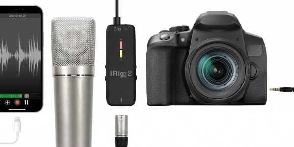 iRig Pre 2 wireless audio interface - hero