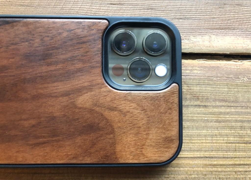 wood iPhone 12 case