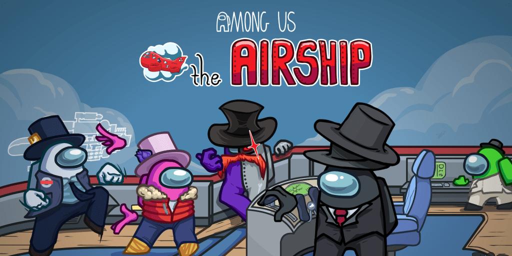 Among Us Airship map PlayStation