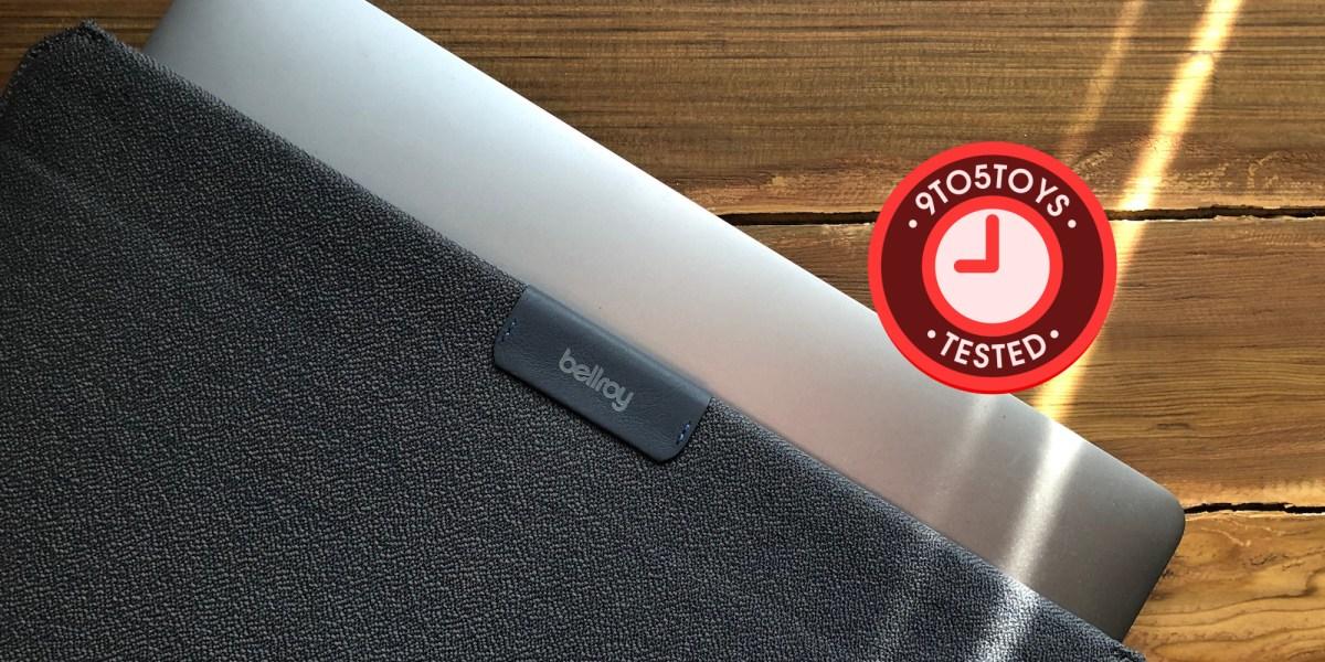 Bellroy new magnetic antimicrobial MacBook sleeve hero