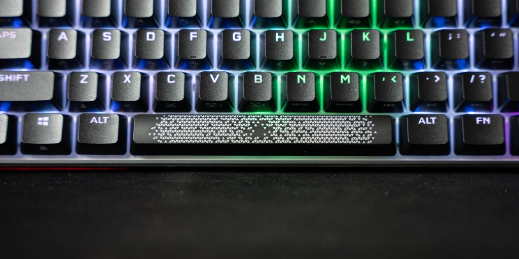 Decorative Corsair space bar