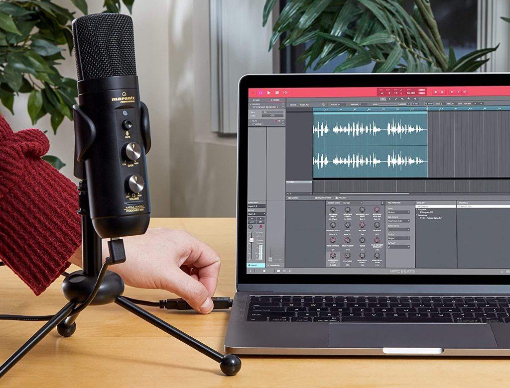 USB-C podcasting mic