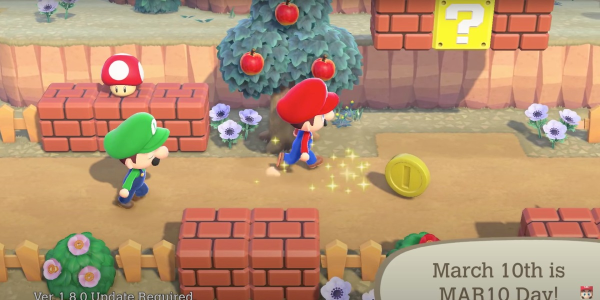March Animal Crossing update hero