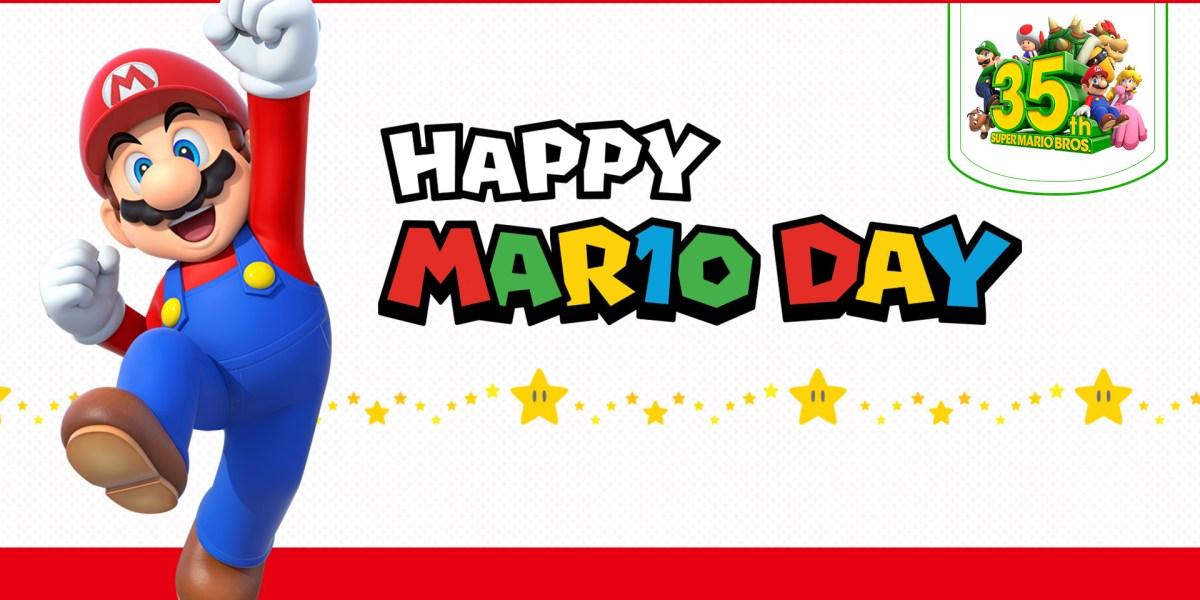 Mario Day 2021 - Mar10 deals