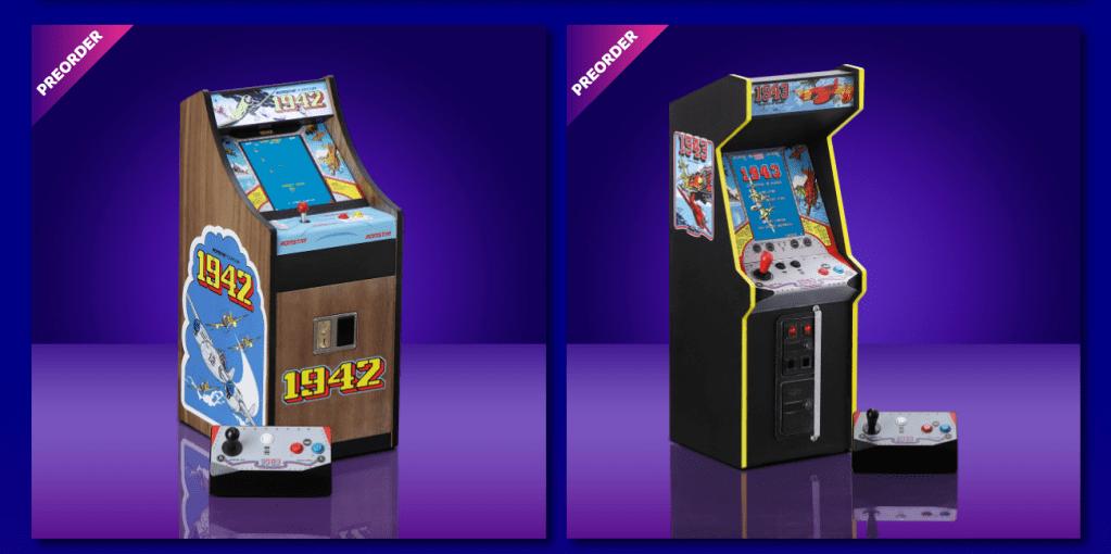 New Wave retro arcade cabinets