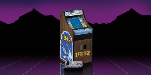 New Wave retro arcade cabinets - 1942 and 1943