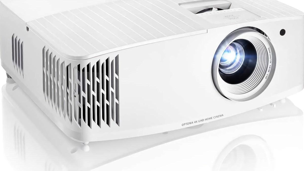 4K gaming projectors